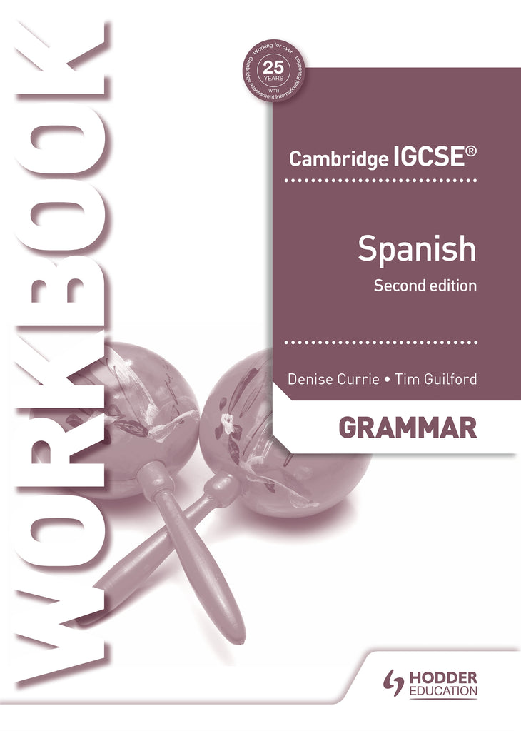 9781510448070, Cambridge IGCSE» Spanish Grammar Workbook Second Edition (0530/7160)