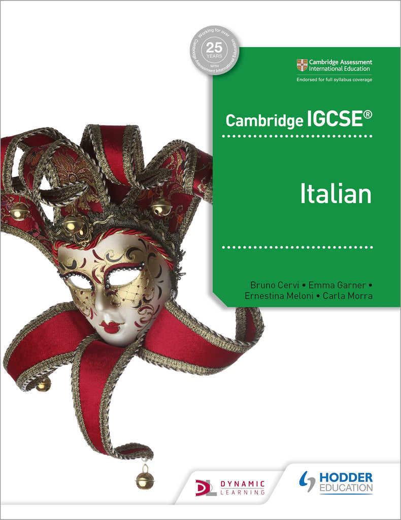 Cambridge IGCSE Italian Student Book (0535/7164) (NYP Due April 2019)