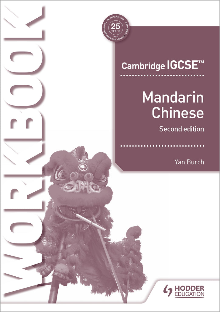 IGCSE Mandarin Workbook Second Edition (NYP Due April 2020)