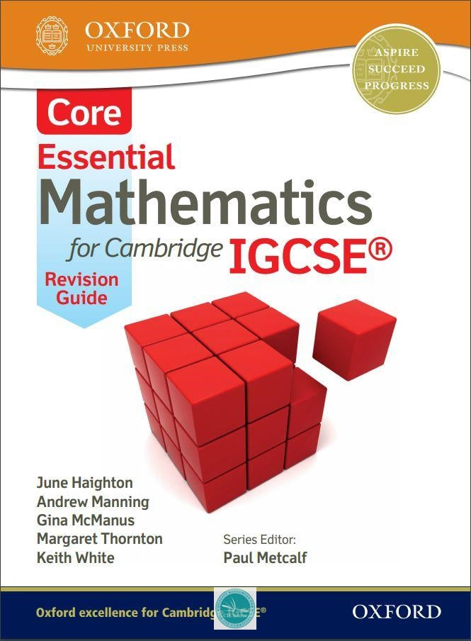 9781408516515, Essential Mathematics for Cambridge IGCSE® Core Revision Guide