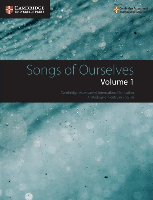9781108462266, Songs of Ourselves Volume 1 (New Edition 2018)