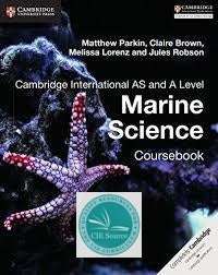 Cambridge International AS and A Level Marine Science Course book