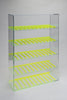 E-Juice/E-Liquid/ Lotions/ Oils Display with Fluorescent Dividers - Green