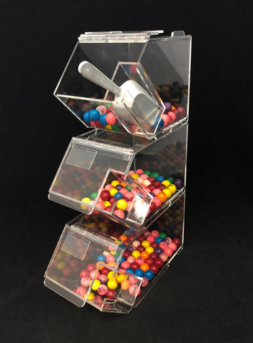 Stackable Candy Bins Set