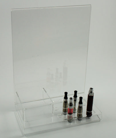 Try-It-Center for 9 tanks, 3 batteries, Sign Holder and Tip Holder