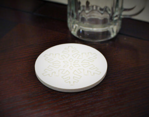 Holiday Snowflake Coaster (pack of 10pc)