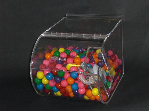 "Original Round Faced Candy Bin - 7.5"" W"