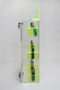 E-Juice/E-Liquid/ Lotions/ Oils Display with fluorescent dividers and matching sign! Green