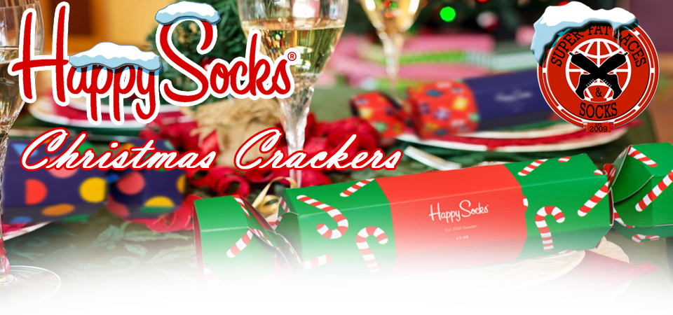 Happy Socks Christmas Crackers