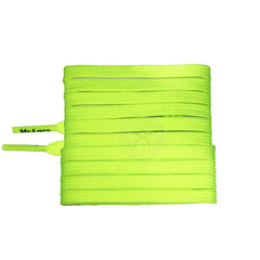 Mr Lacy Runnies Flat - Neon Lime Yellow Shoelaces [120cm]