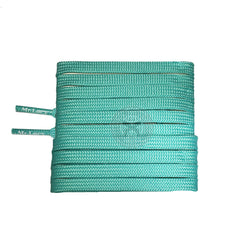 Mr Lacy Runnies Flat - Mint Green Shoelaces [120cm]