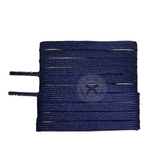 Mr Lacy Runnies Flat - Navy Shoelaces [120cm]