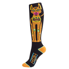 Gumball Poodle Unisex Knee High Socks - Walk like an Egyptian Cat