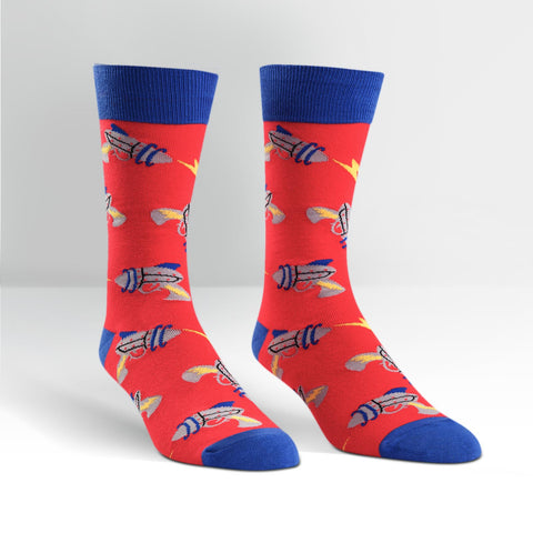 Sock It To Me Men's Crew Socks - Raygun