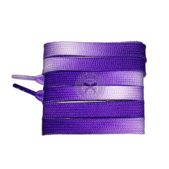 Mr Lacy Flatties Fadies - Violet Shoelaces