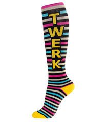 Gumball Poodle Unisex Knee High Socks - Twerk