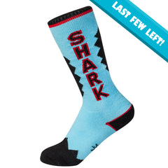 Gumball Poodle Unisex KIDS Knee High Socks - Shark