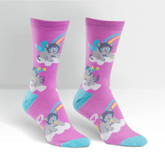 Sock It To Me Women's Crew Socks - Purrfect World