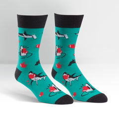 Sock It To Me Men's Crew Socks - Love Bites