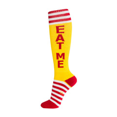 Gumball Poodle Unisex Knee High Socks - Eat Me