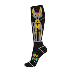 Gumball Poodle Unisex Knee High Socks - Walk Like An Egyptian Dog