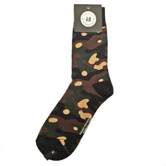 Richer Poorer Men's Crew Socks - Trooper - Green