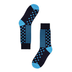 Golden Rabbit Unisex Crew Socks - DL Abyss - Large