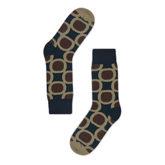 Golden Rabbit Unisex Crew Socks - Giant Tea - Large