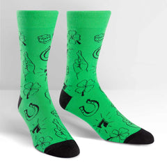 Sock It To Me Men's Crew Socks - Lucky Sock