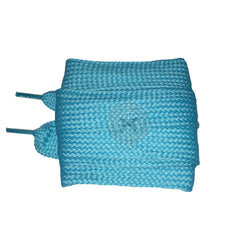 Mr Lacy Fatties - Aqua Blue Fat Shoelaces