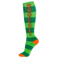 Gumball Poodle Unisex Knee High Socks - Broccoli