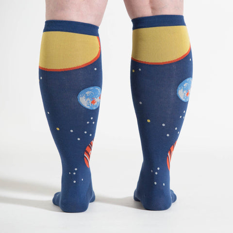 Sock It To Me STRETCH-IT Unisex Knee High Socks - Planets