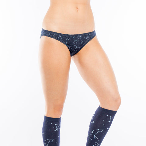 Sock It To Me Women's Underwear and Sock Pack - Constellation - X-Large