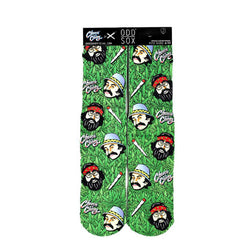 Odd Sox Men's Crew Socks - Cheech & Chong