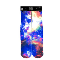 Odd Sox Men's Crew Socks - Nebula