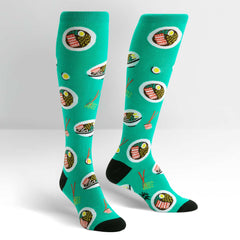 Sock It To Me Women's Knee High Socks - Ra-Man!
