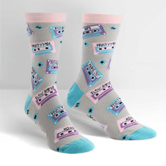 Sock It To Me Women's Crew Socks - Mixtapes