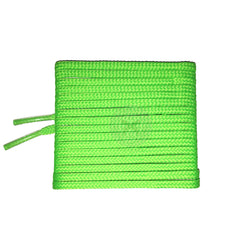 Mr Lacy Goalies Slim - Neon Green Football Shoelaces