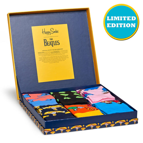 Happy Socks x The Beatles Men's LP Collection - 6 Pack