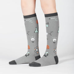 Sock It To Me Kids Knee High Socks - Science of Socks (7-10 Years Old)