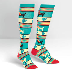 Sock It To Me Women's Knee High Socks - Yo Quiero Sombrero