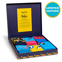 Happy Socks x The Beatles Men's LP Collection - 6 Pack (50th Anniversary)