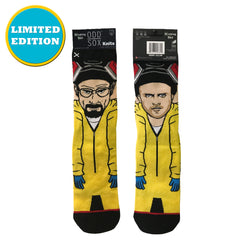 Odd Sox Men's Crew Socks - The Cooks (Breaking Bad)