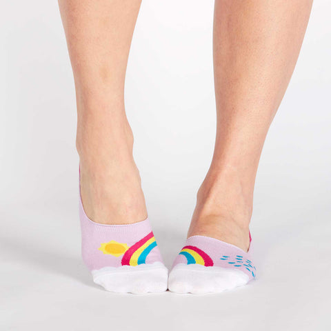 Sock It To Me Women's No Show Socks - End of the Raintoes