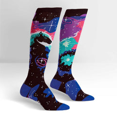 Sock It To Me Women's Knee High Socks - Horsehead Nebula