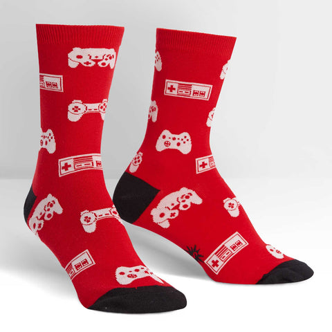 Sock It To Me Women's Crew Socks - Multiplayer