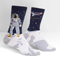 Sock It To Me Women's Crew Socks - One Giant Leap