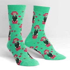 Sock It To Me Women's Crew Socks - Punk Poodle