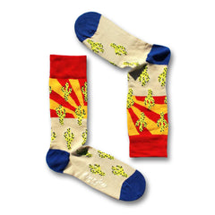 Huxley Sock Co. Men's Crew Socks - Arizona (Bamboo Socks)