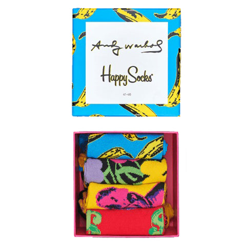Happy Socks x Andy Warhol Women's Gift Box - 4 Pack